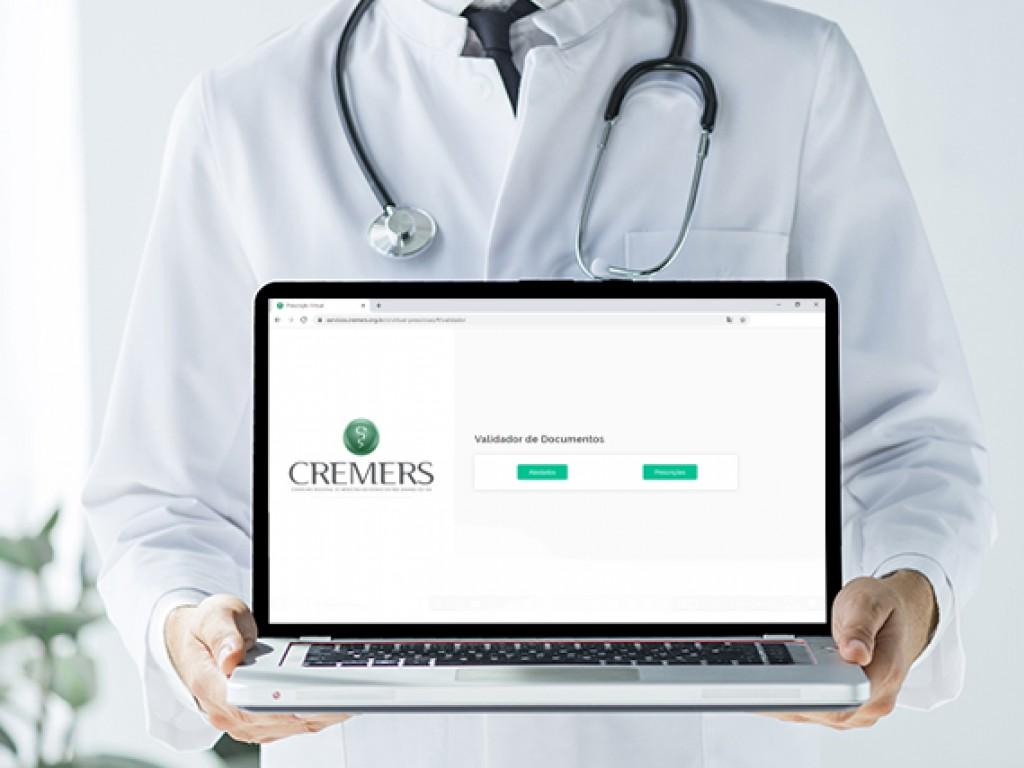 Nova ferramenta permite emissão de receitas e atestados médicos digitais